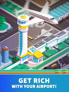 Idle Airport Tycoon – Tourism Empire Mod Apk Download For Android and Iphone 8