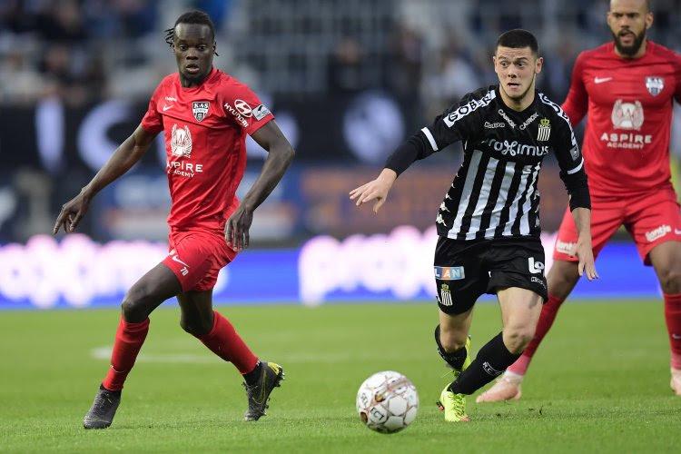 Fin de saison pour un jeune prêté par le Sporting Charleroi