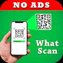 WhatScan Pro - QR Scanner, Status Saver (No Ads) icon