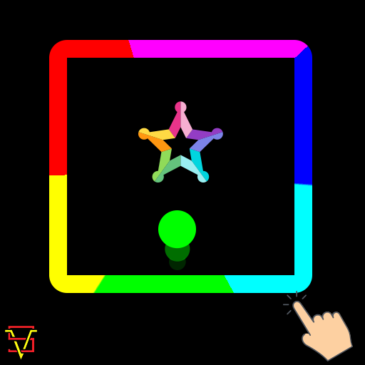 Color Switch Vector