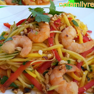 Spicy Thai Shrimp Mango Salad Recipes (Gỏi Xoài Tôm Thái Lan)