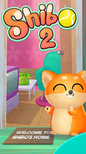 My Dog Shibo 2 – Virtual pet with Minigames  captures d'écran 1