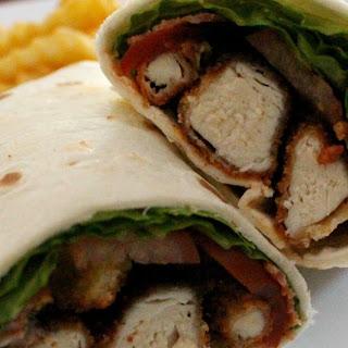 Buffalo Chicken BLT Wrap
