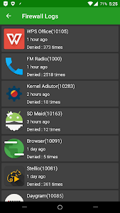 AFWall+ (Android Firewall +) screenshot 1
