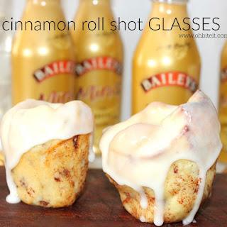 ~Cinnamon Roll SHOT GLASSES!
