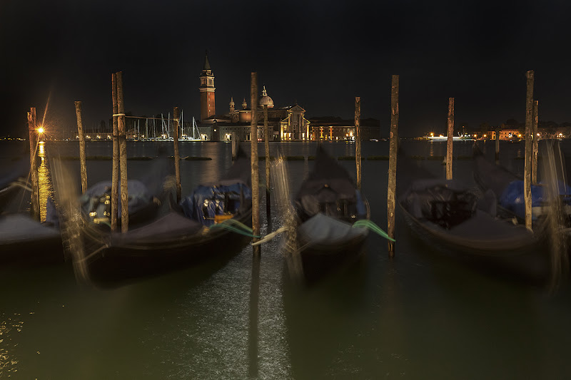 notte sulla laguna di angart71