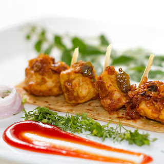 Ginger and Curry leaves Chicken bites