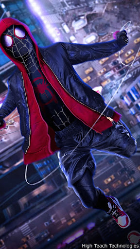 Spiderman Into The Spider Verse Live Wallpaper Apk Download Apkpure Co
