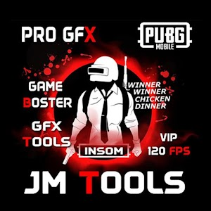 JM Tools GFX Pro For PUBG 120FPS Game Booster 0.0.8 by Bangkukayu logo