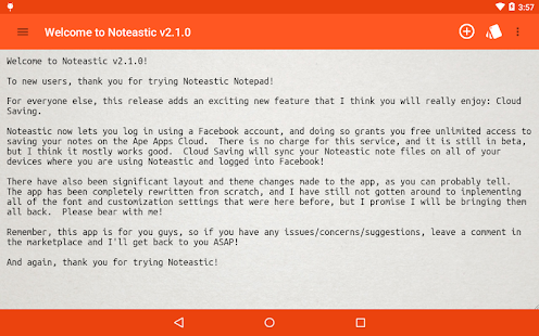 Noteastic Beta- screenshot thumbnail