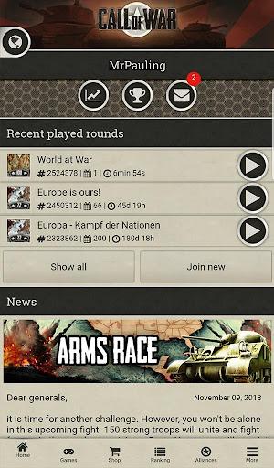 Call of War - WW2 Strategy Game 0.48 screenshots 10