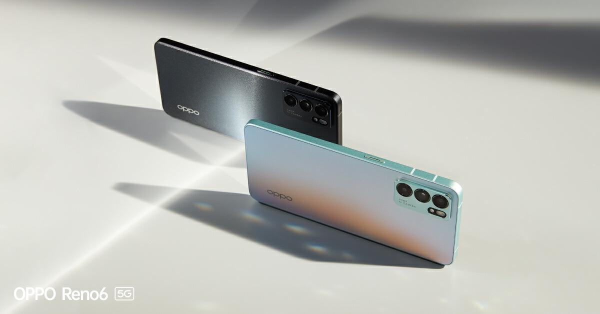 รูปลักษณ์ ของ Oppo Reno6 5G