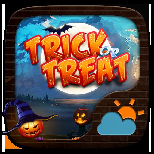 Trick or Treat GO Weather Widget Theme