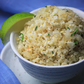 Cilantro Cauliflower Lime Rice