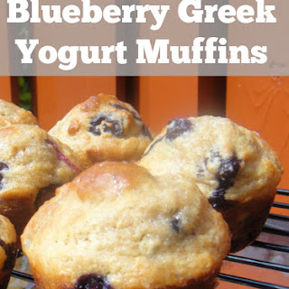 Blueberry Greek Yogurt Muffins