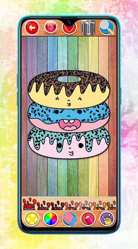 Kawaii Coloring Book Glitter screenshot 10