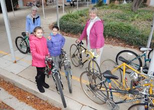 Photo: Loading up the bikes