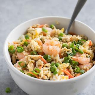Cauliflower Shrimp Fried Rice.
