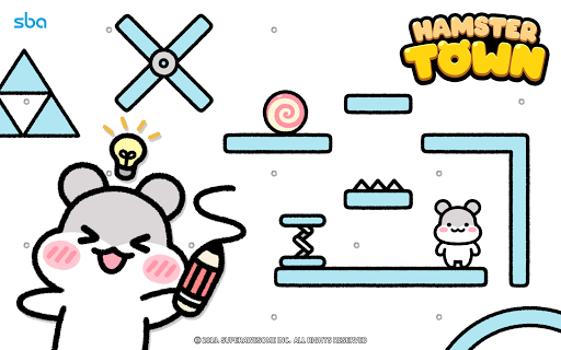 Hamster Town, the cutest drawing puzzle game ever screenshots 15