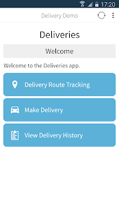 JourneyApps Container - náhled