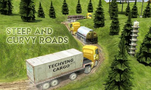 Big Euro Truck Parking Legend: Truck Parking Games 1.8 screenshots 3