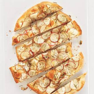Potato and Rosemary Flat Bread.