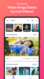 Download Android App Video Songs Status (Lyrical Videos) - VidJoy for Samsung