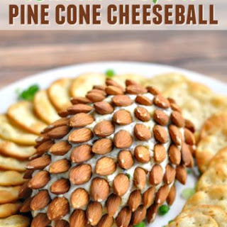 Bacon & Herb Pine Cone Cheeseball