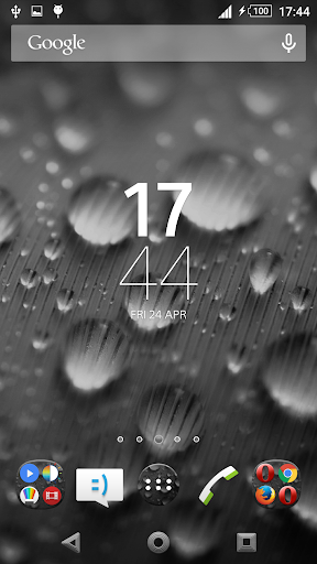 Theme Xperien Dew Drops Gray