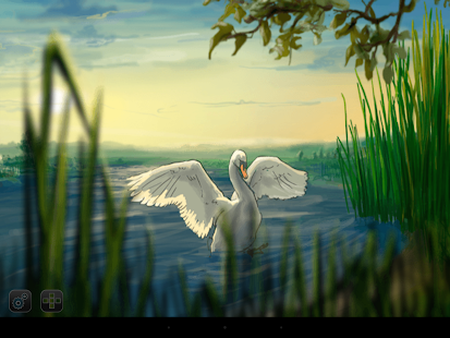 Where the Swans Sleep - children's story book- screenshot thumbnail