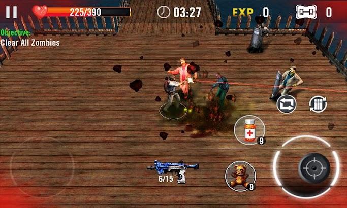 Zombie Overkill 3D screenshot