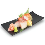 Kingfish & Salmon Sashimi