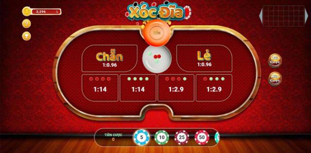 kỹ thuật chơi xóc đĩa online