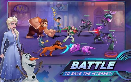 Disney Heroes: Battle Mode apkpoly screenshots 1