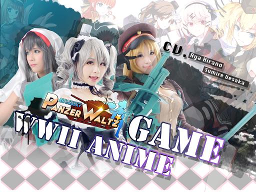 Panzer Waltz:Best anime game 1.12 Mod screenshots 1