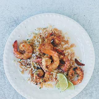 Sauteed Shrimp.