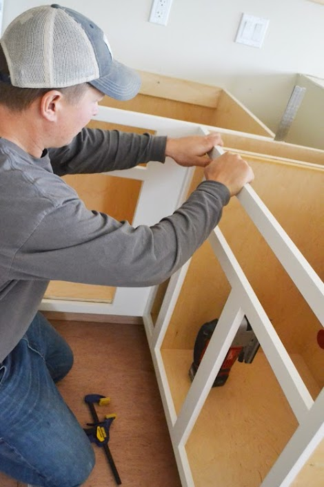 how to build face frames for kitchen cabinets - Kitchen Cabinets Frames