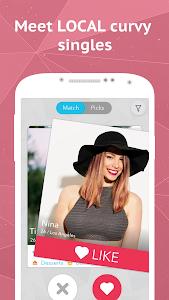 BBW Dating & Plus Size Chat screenshot 0