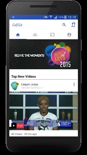 CeFlix Live TV 2.1.0-1593 screenshots 1