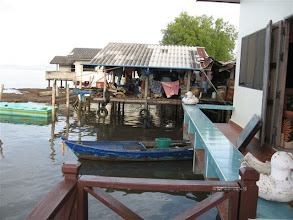 Photo: z terasy penzionu v Laem Ngop
