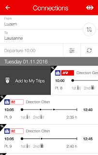 SBB Mobile screenshot 01