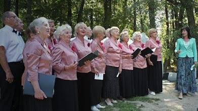 """Photo: Choras """"Alna"""" iš Klaipėdos, vadovė Olga Lebedeva."""