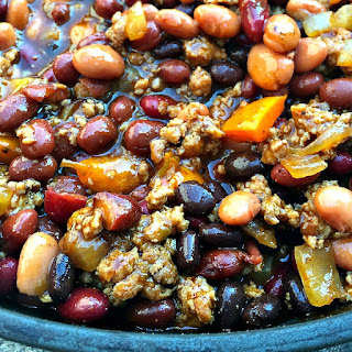 Crock Pot Beans with Ground Turkey Recipe
