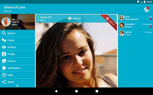 Free Dating & Flirt Chat - Choice of Love  screenshots 9