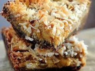 Coconut Pumpkin Bars Recipe