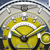 Yellow Lizard Watch Face