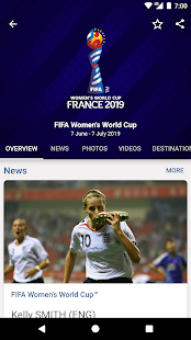 FIFA - Tournaments, Soccer News & Live Scores Screenshot