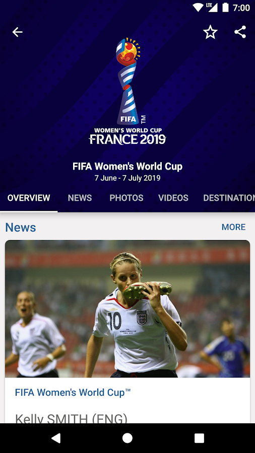 FIFA - Tournaments, Soccer News & Live Scores- screenshot