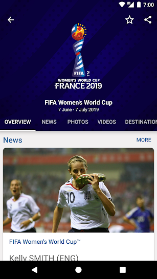FIFA - Tournaments, Soccer News & Live Scores screenshot for Android