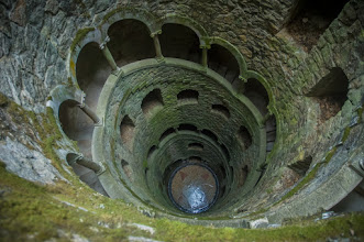 Photo: inspiration well, quinta da rigaleira, sintra, portugal